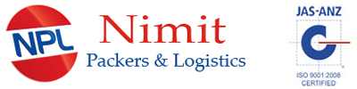 Nimit Packers & Logisics Logo